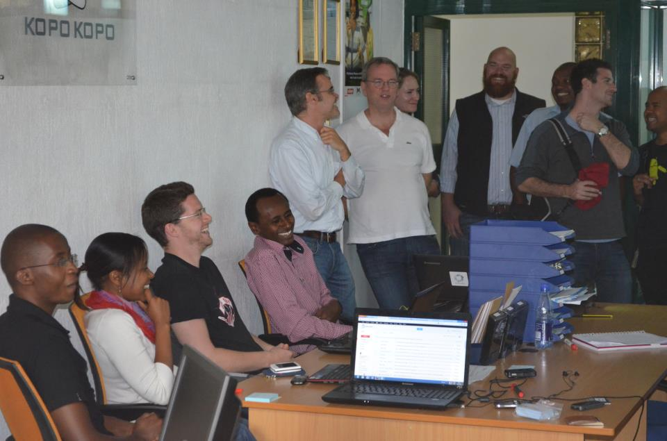 Google's Eric Scmidt at Kopo Kopo