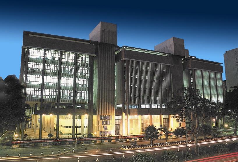 central-bank-of-kenya-night