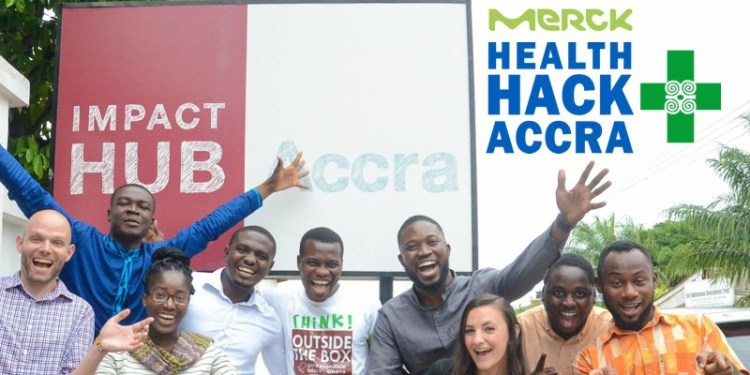 Participants in the Merck's Ghana Edition. Photo-Incubate Africa