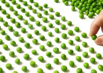 count peas