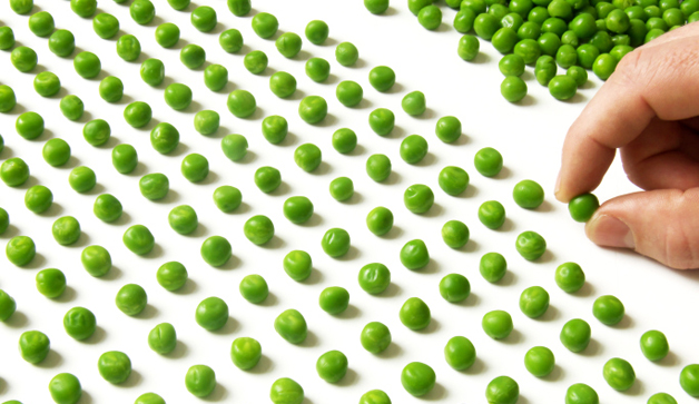 count peas