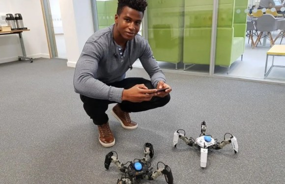 Nigerian-British Silas Adekunle launches Mekamon gaming bot to revolutionize gaming globally
