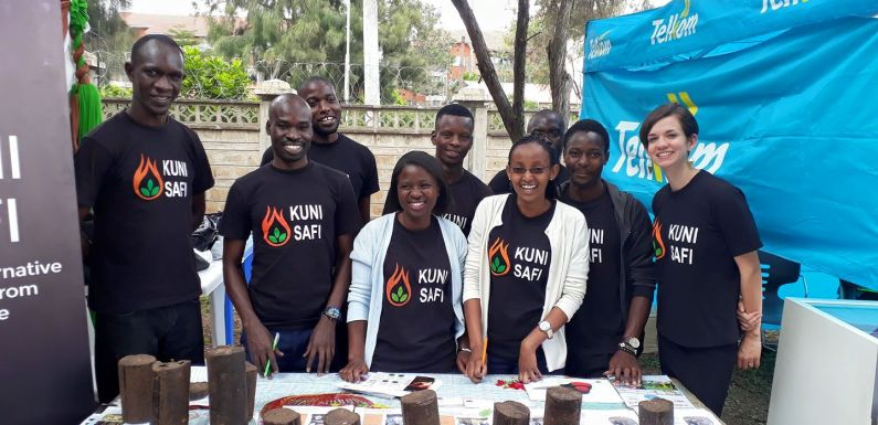 Acacia Innovations' Kuni Safi is a cheap and clean alternative to wood fuels
