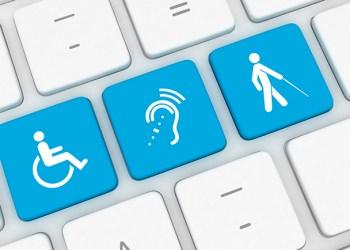 Accessibility computer icon