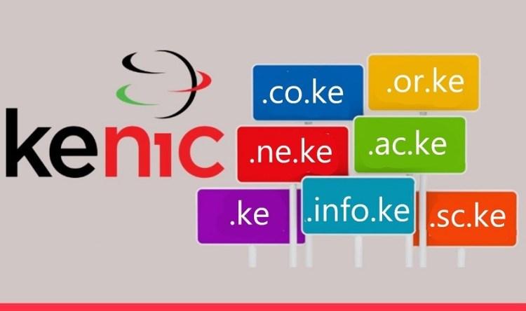 KeNIC domain prices