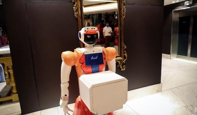 south african hotel robots