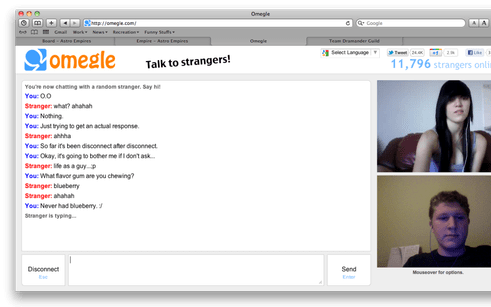 omegle-top 10 chatroulette alternatives