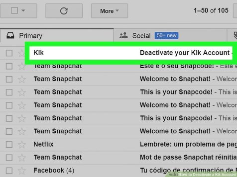 How to delete kik account steps included techmused image credit wikihow ccuart Image collections