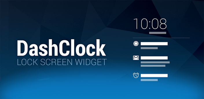 DashClock's Replacement Lock Screen Clock Widget For Android 4.2+(Android App Of the Day)   Tech My Money