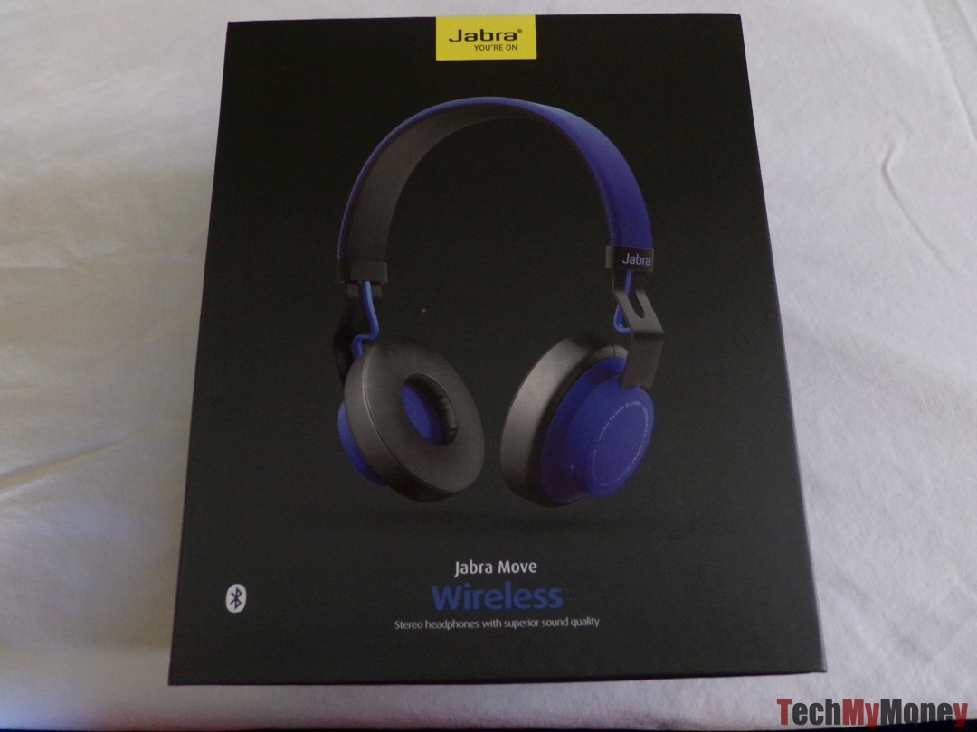Jabra Move Wireless Bluetooth Headphones