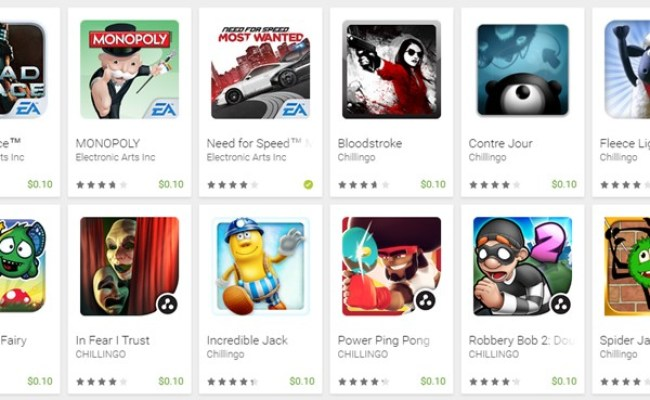 Google Play Store Has A 0 10 Cent Sale On Games Tech My