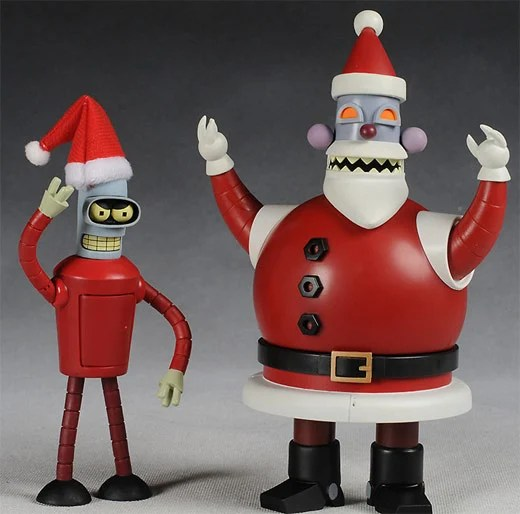 Image result for robot santa