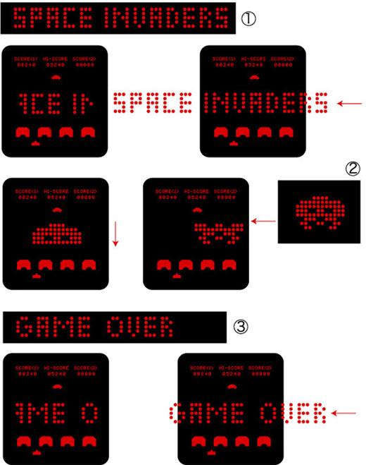 space_invaders_led_watch_display