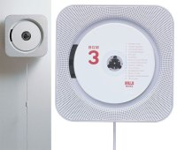 Muji Wall-Mounted CD Player: Pull String, Hear Music ...