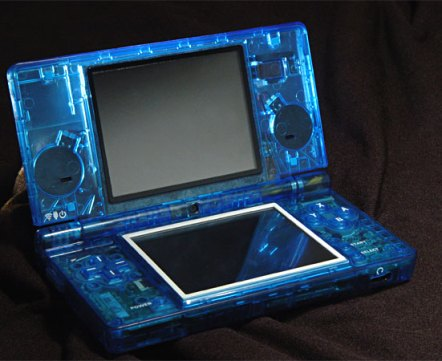 xcm eye candy nintendo dsi blue case