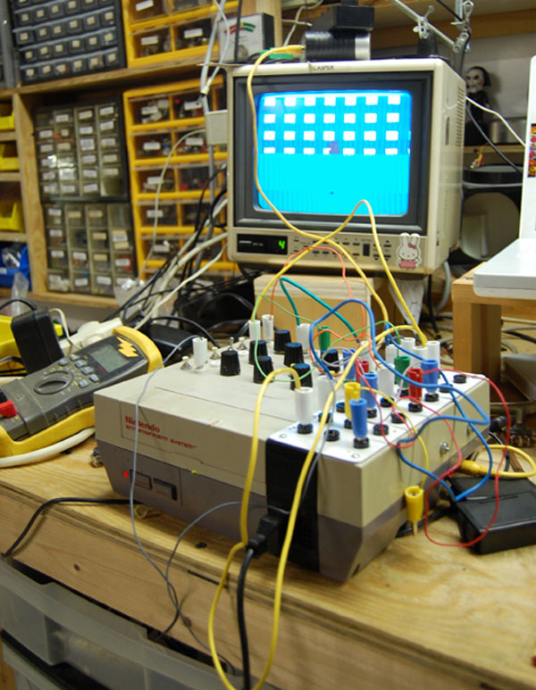 Circuit Bent Video Gaming Systems