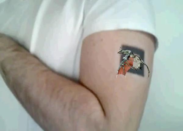 thinkanapp augmented reality tattoo
