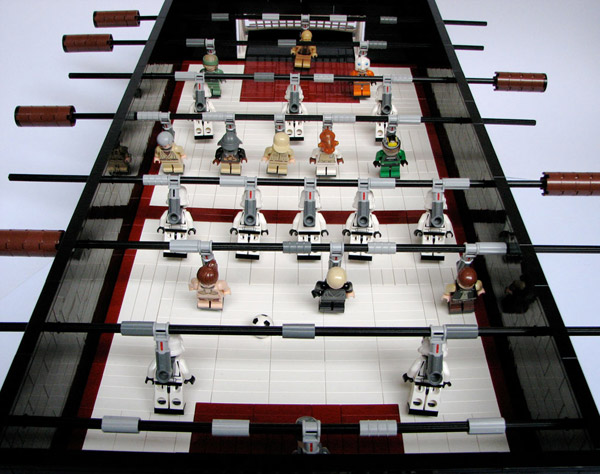 lego foosball star wars games play