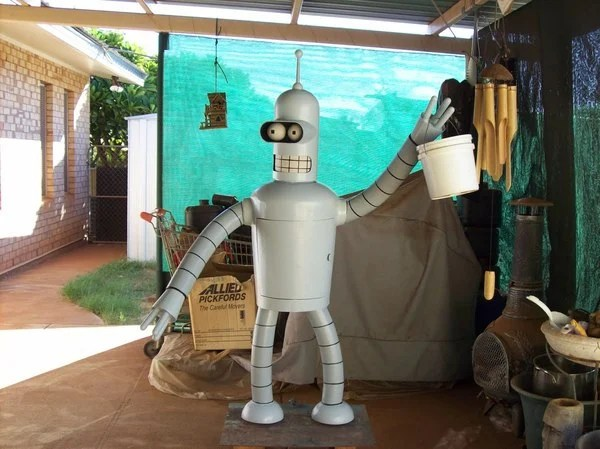 bender futurama cartoon replica