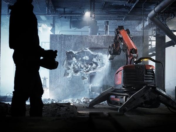 husqvarna demolition robot terminator skynet