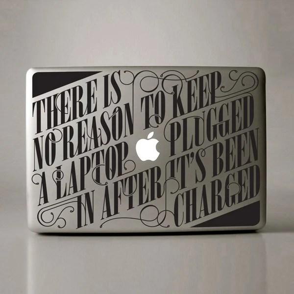 macbook stickers vinyl hu2 design romain ferrer laptop