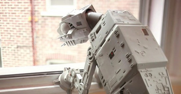 at-at pet imperial walker video dog