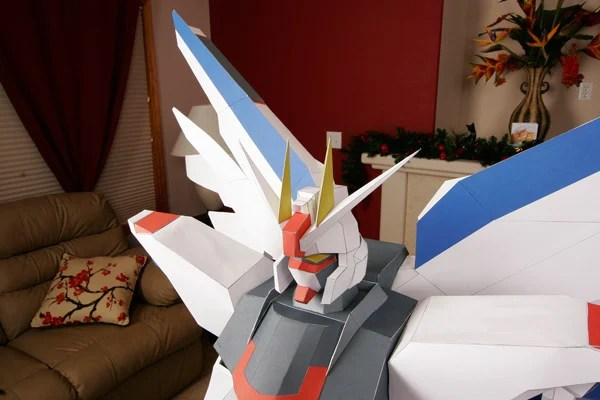 freedom japan papercraft gundam toys