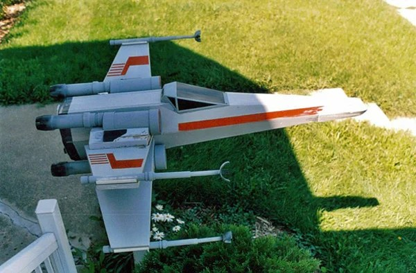 x-wing mailbox craig smith diy star wars