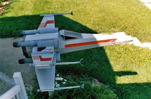 x-wing mailbox craig smith diy star wars