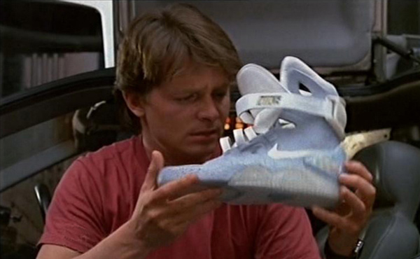 marty mcfly nike power laces back to the future