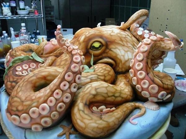 cthulhu octopus head cake karen portaleo