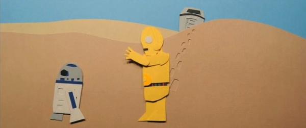 jeremy messersmith tatooine eric power star wars papercraft trilogy