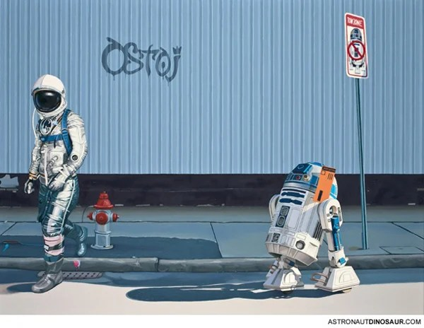 lonely astronaut scott listfield r2d2, star wars