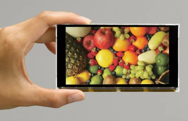 casio full hd screen smallest mobile