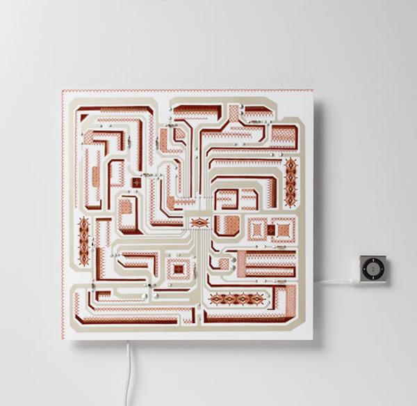 nendo japan circuit board speaker ceramic