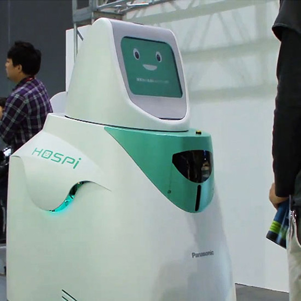 drug dealing robot japan panasonic