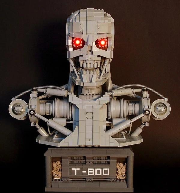 terminator bust movies lego