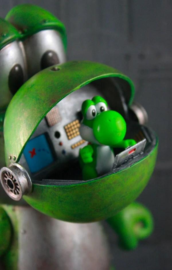 Yoshi Robot Deserves Its Own Video Game