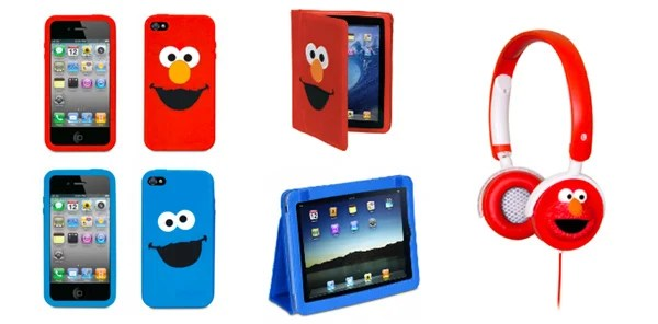 sesame street cookie monster elmo cases ipod iphone ipad cover