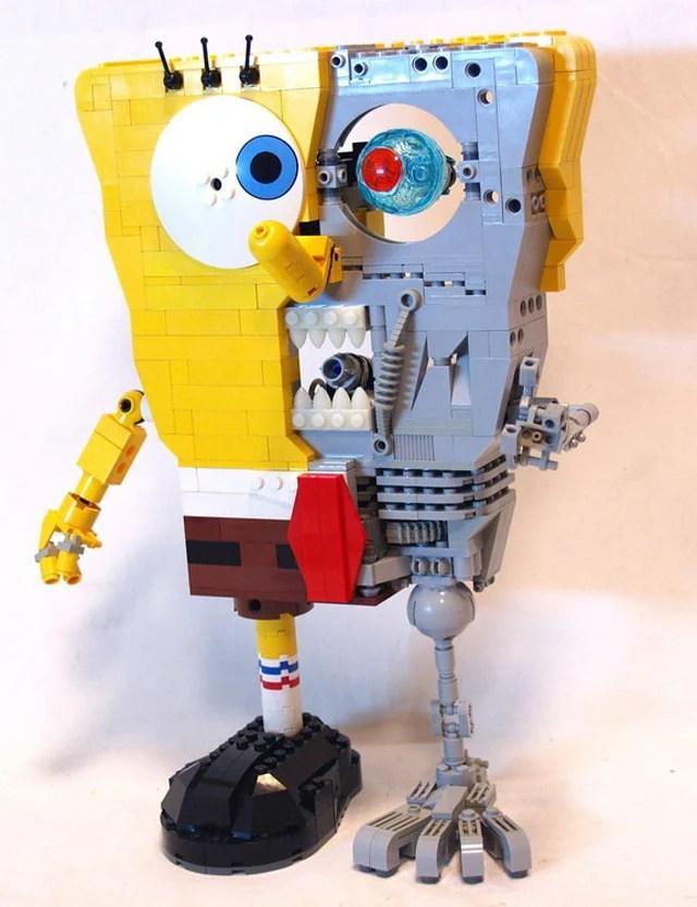 lego spongebob squarepants terminator toys rack911
