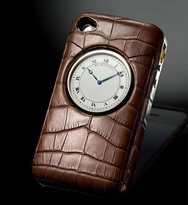 iphone case de bethune luxury leather style