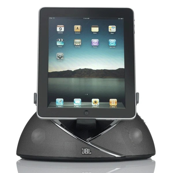 jbl onbeat speaker ipad ipod iphone dock