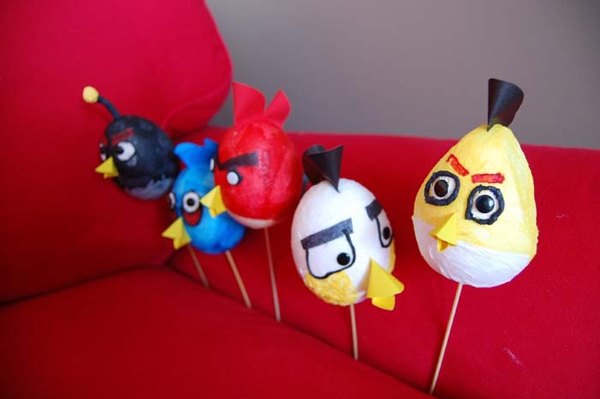 angry birds video games diy dominika turek easter eggs