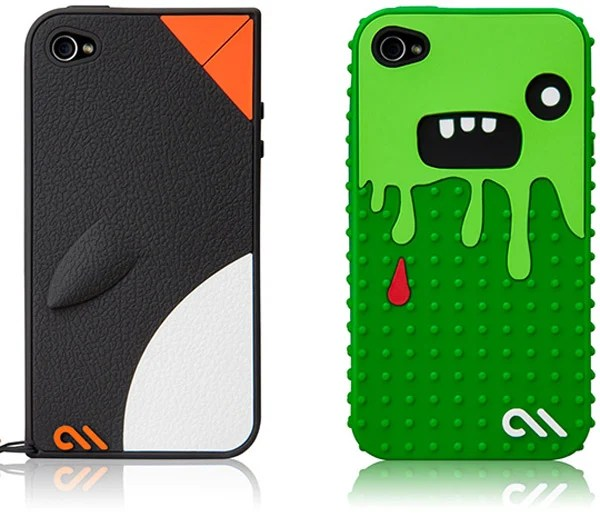 case-mate creatures monsta waddler iphone 4 ipod touch apple case