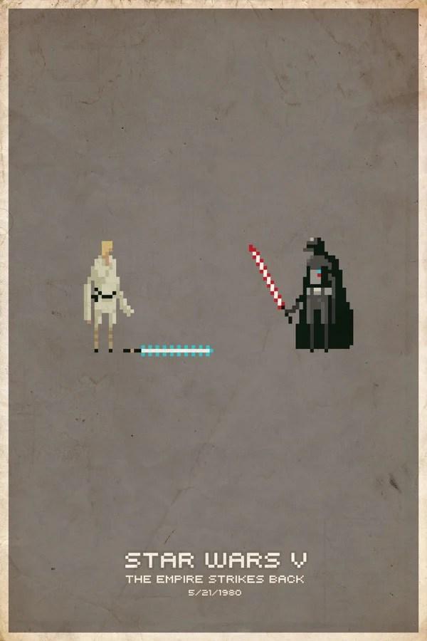 sword sorcery star wars posters slaterman23 pixel pseudo
