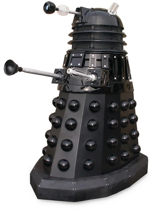 dalek doctor who bbc life-sized replica exterminate robots