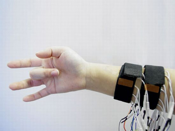 possessedhand sony tokyo university japan cyborg remote control