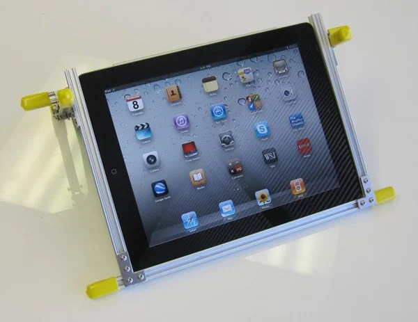 ipad microrax stand diy ken kremer make