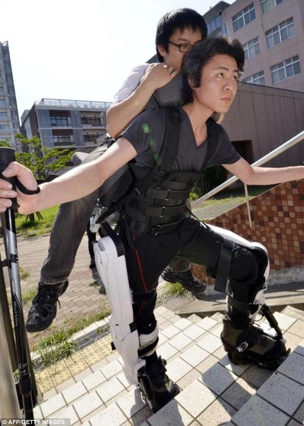 robo suit hal hybrid assisted limb exoskeleton japanese robots