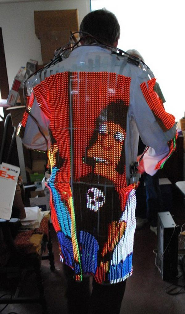 led tv coat dave forbes wearable tv screen